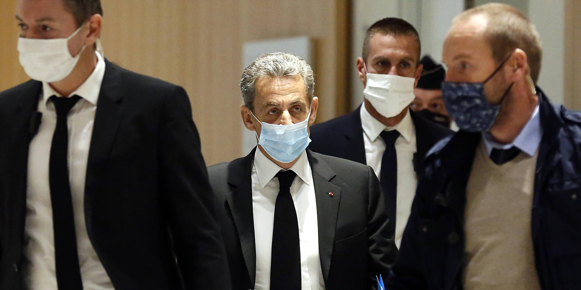 Affaire des ecoutes quatre ans de prison requis contre Nicolas Sarkozy dont deux avec sursis