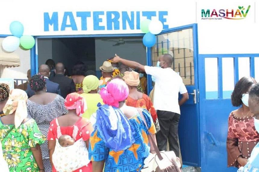 [Côte d'Ivoire/Réhabilitation de la FSUCOM d'Abobo] L'Ambassade d'Israël et SOS village d'enfant s'unissent