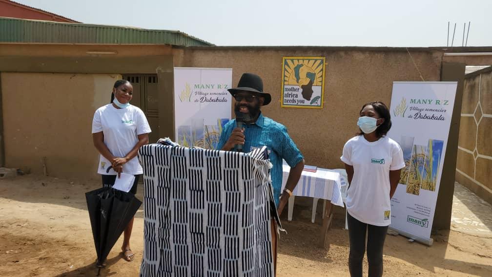 Tiahmo  RAUF, promoteur et PDG de la société MANY (Mother Africa Needs You)
