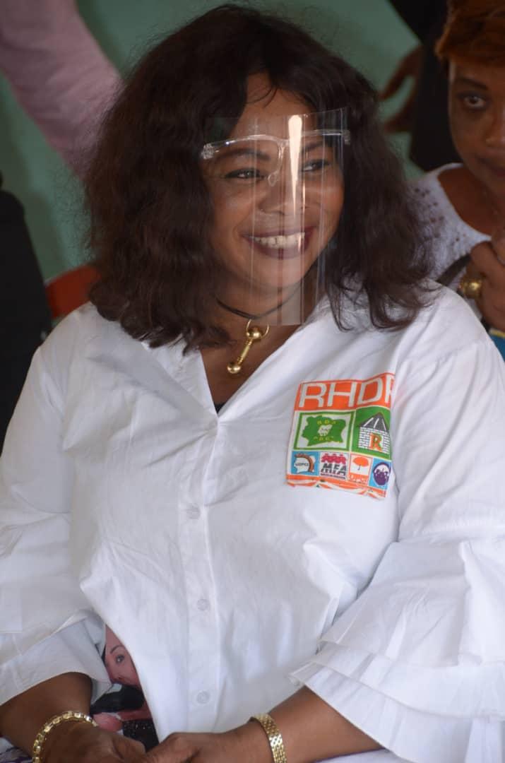 Le RHDP a décidé de donner toutes les chances à sa candidate, Koné Catherine
