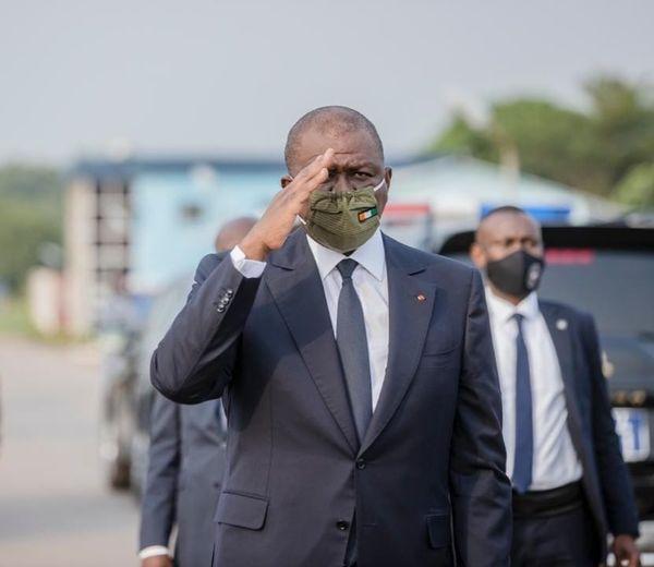 Deuil national, drapeaux en berne, activités au ralenti, la Côte d'Ivoire pleure son Premier ministre, Hamed Bakayoko