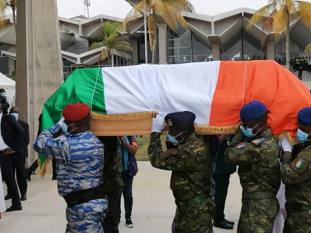 La dépouille mortelle d'Hamed Bakayoko est en Côte d'Ivoire