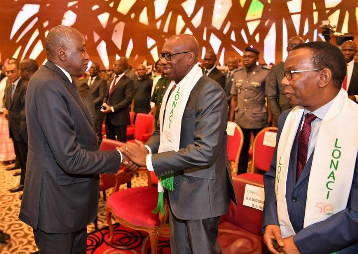 [50 ans de la Lonaci] Le DG, Dramane Coulibaly félicité par le Premier ministre pour la ''performance commerciale'' et ''l'action sociale''