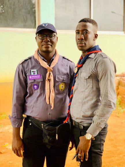 (Côte d'Ivoire 4e conférence nationale des scouts musulmans) Dr Ahmed A. Traoré ''Alligator Impatient'' élu commissaire national