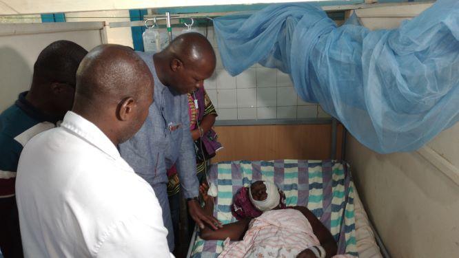 (Kabakouma Apres le carnage)Le gouvernement  prend en charge les blessés