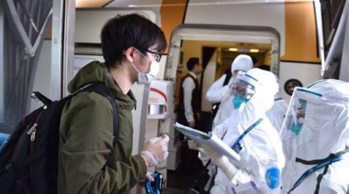 (Chine  Covid-19) la plupart des cas importés sont diagnostiqués pendant l'observation médicale