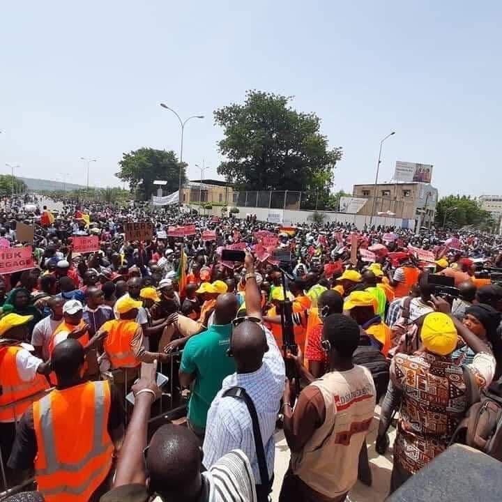 [Mali] Grande mobilisation pour le départ du président IBK