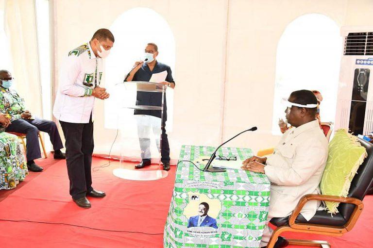 (Côte d'Ivoire Election présidentielle 2020) Bédié éligible selon le comité des candidatures du PDCI(Communiqué)