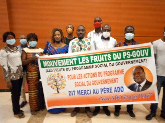 (Côte d'Ivoire Présidentielle 2020) Les fruits du PS-Gouv en ordre de bataille pour la victoire d'Alassane Ouattara