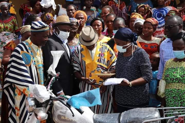 [Côte d'Ivoire/Présidentielle 2020] Mme Mahi Clarisse ratisse large pour la victoire d'Ado dans le Tonkpi Sud