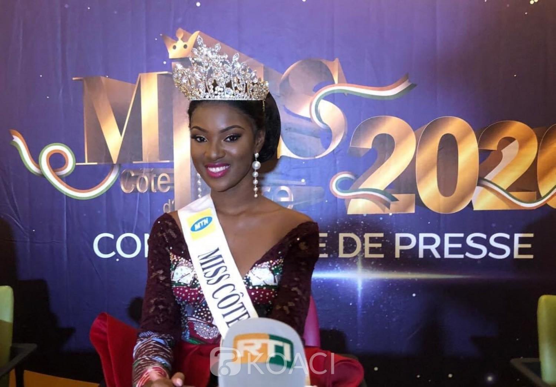 [Miss Côte d'Ivoire] C'est politique seulement qui n'est pas bonne pour les ivoiriens (Simple avis)