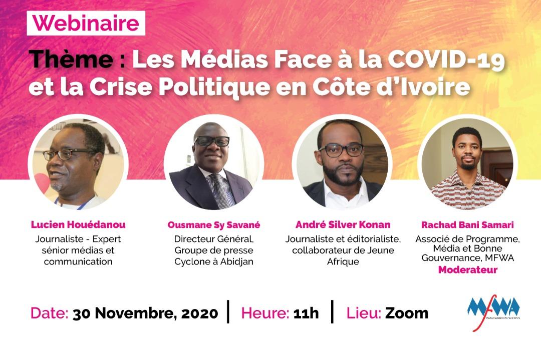 Webinaire sur la liberté de la presse, l'accès à l'information : La MFWA invite les ivoiriens à y participer
