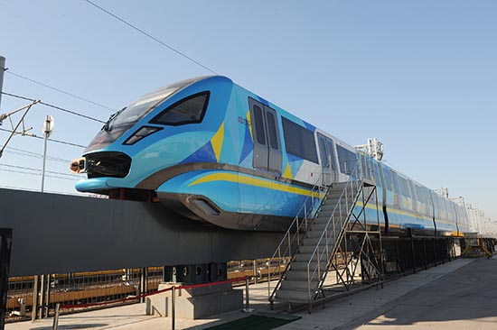[Chine] Le constructeur CRRC Sifang surprend le monde avec un train monorail
