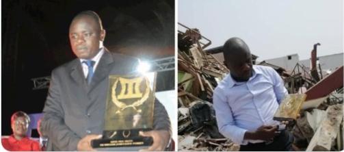 [Démolition des maisons de la Cité Akissi Delta] Le Super Ebony 2009, Jean Roch Kouamé,  parmi les SDF