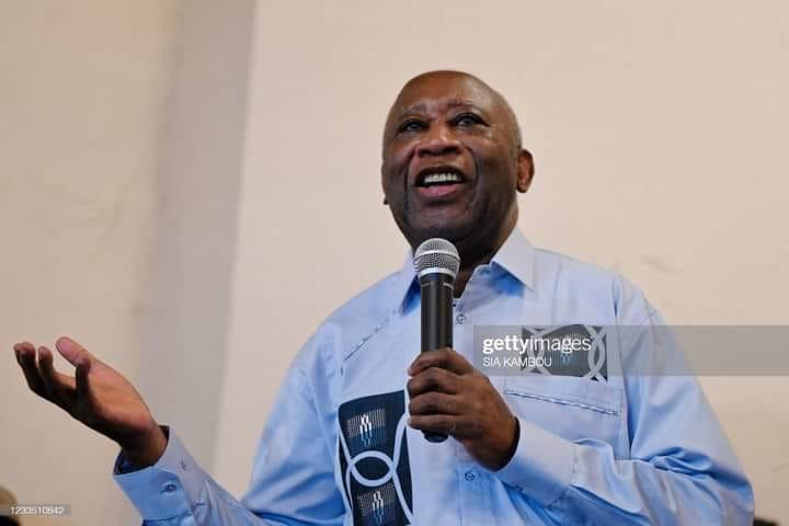 Le premier discours de Laurent Gbagbo