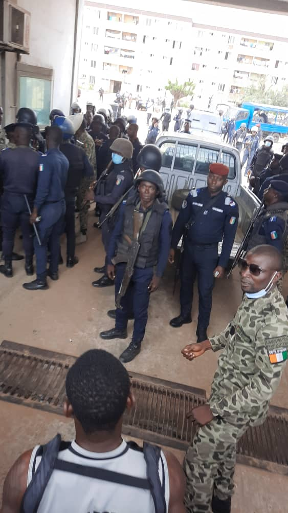 [Côte d'Ivoire] Une grève transforme la Maca en un champ de bataille (vidéo)