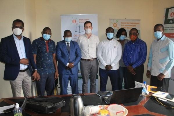 Le REPPRELCI obtient 25 000 dollars des Etats-Unis pour la labélisation des sites web d'information de Côte d'Ivoire (communiqué)