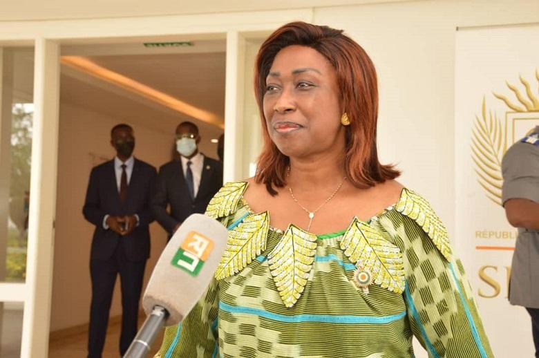 Nommée vice-présidente du Sénat : Chantal Fanny remercie Alassane Ouattara et à Ahoussou Jeannot
