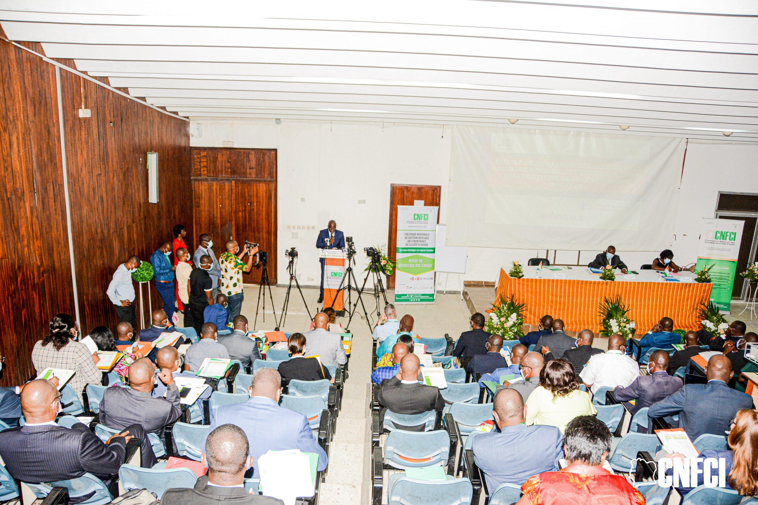 [Côte d'Ivoire] La politique nationale de gestion intégrée des frontières au menu à Abidjan