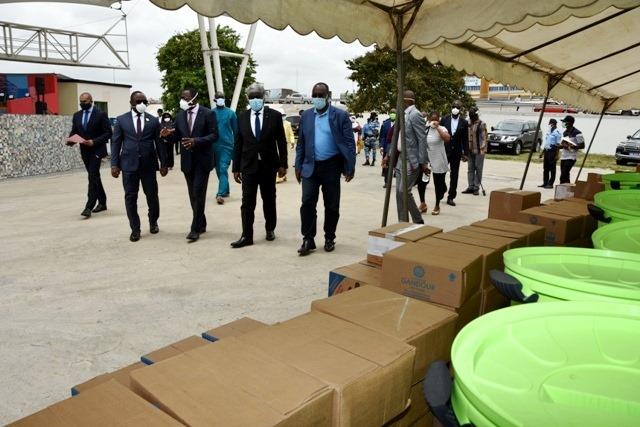 [Côte d'Ivoire Guerre contre la Covid-19] Mambé et les 13 maires du district d'Abidjan prêts pour une grande offensive