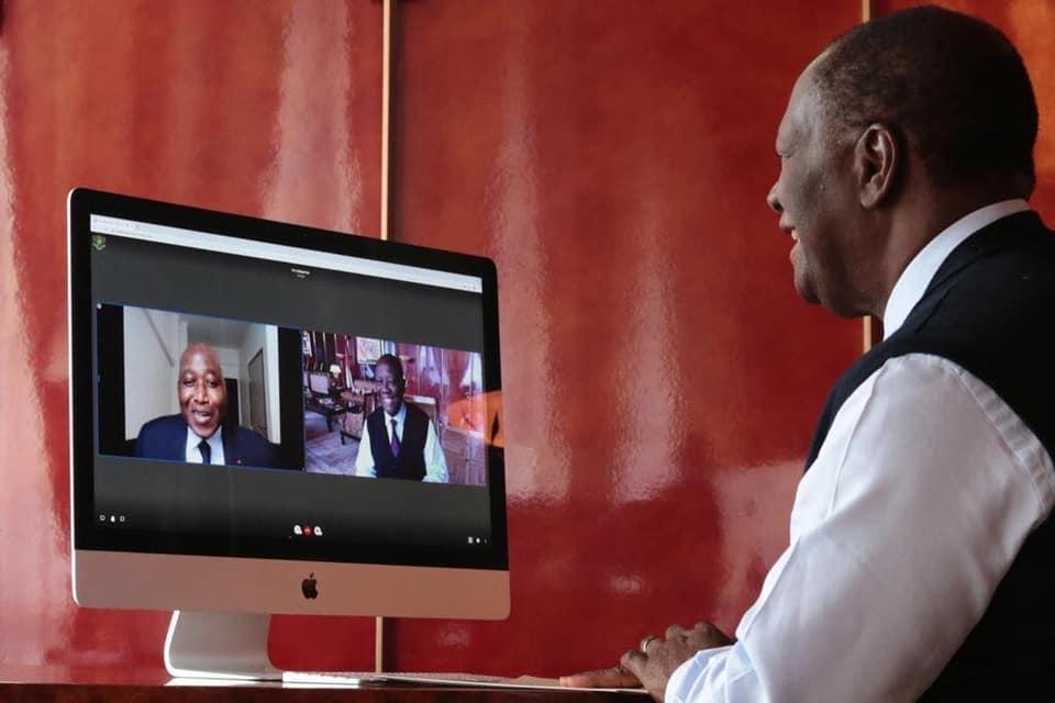 [En convalescence à Paris] Amadou GON Coulibaly a échangé avec le Chef de l'État Alassane Ouattara ce jour