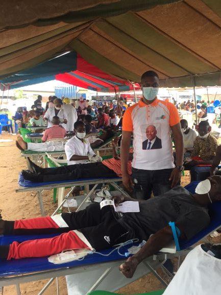 Interview/(Côte d'Ivoire Election présidentielle 2020) M. Chaudron Jean Charles Yaya, président du mouvement ''Vision 2020 AGC''. ''On ne parlera plus de manque de sang avec AGC président'' !
