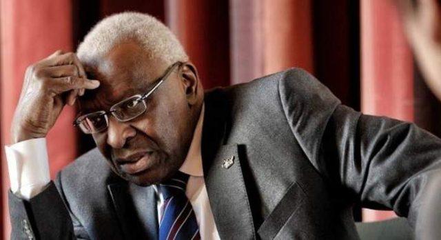 (Paris Procès de l'ancien patron de  l'IAAF) Lamine Diack comme Sepp Blatter