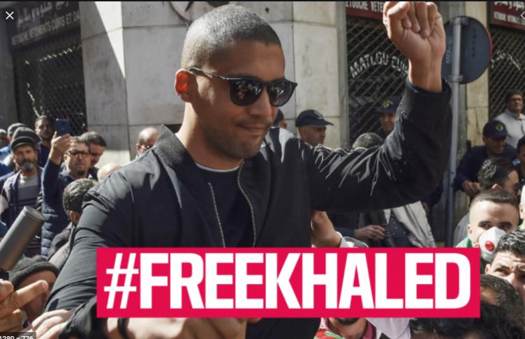 [Création du comité de soutien international] #FreeKhaled pour Khaled Drareni détenu en Algérie depuis le 29 mars
