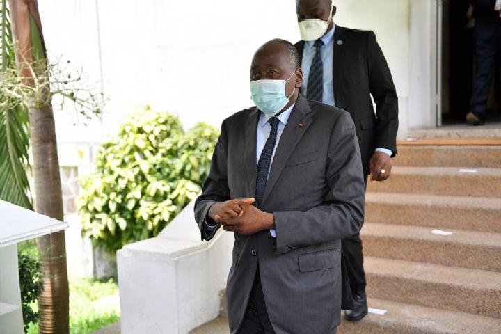 (Côte d'Ivoire Après plus de deux mois d'absence)Amadou Gon a regagné Abidjan