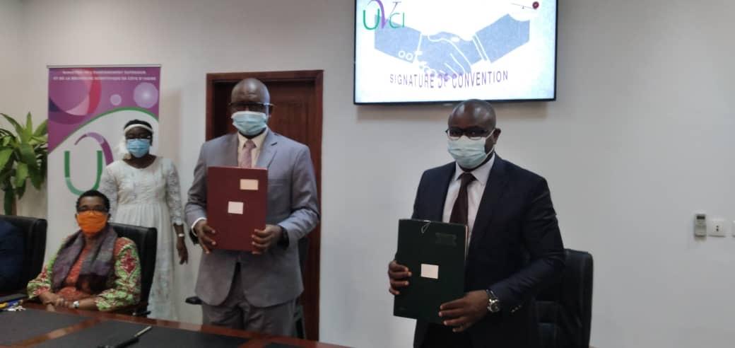 [Côte d'Ivoire Futurs Champions] La Fonadtion ''Expérience pour tous'' signe une convention de partenariat avec l'UVCI