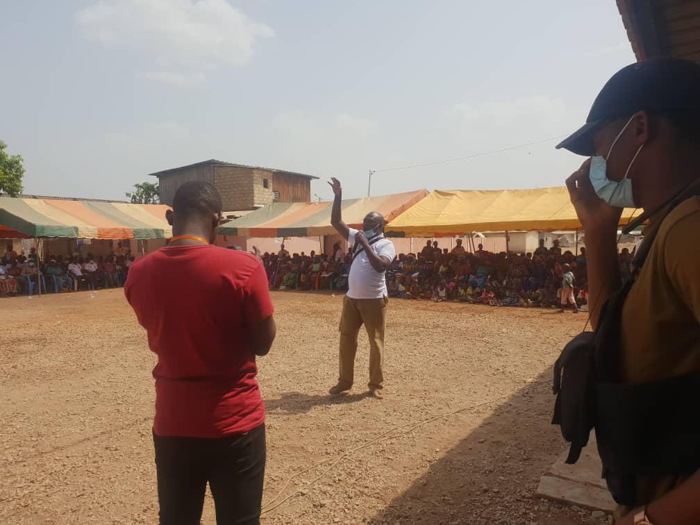 [Département de Niakara Législatives 2021] Depuis Ouérégué, Ouattara Clément fait une démonstration de mobilisation pour la candidate du Rhdp