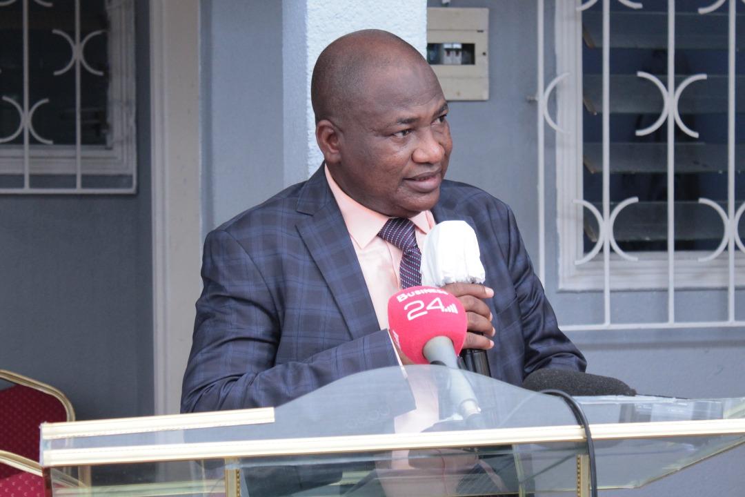 L'administrateur délégué et secrétaire général du Bureau d'Abidjan, Vassidiki Diabaté