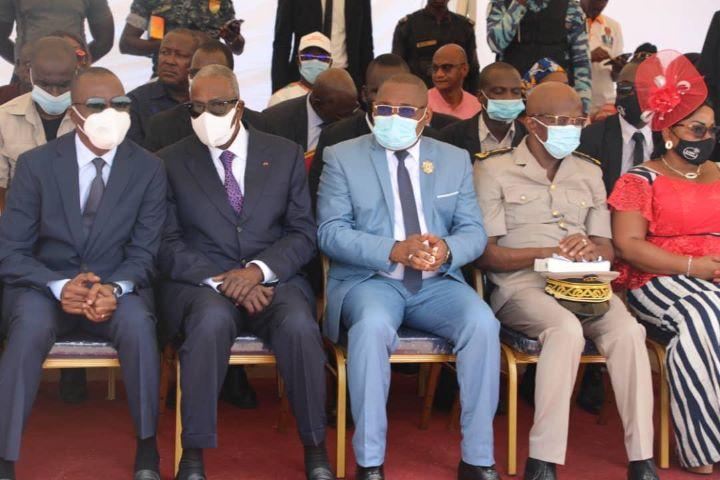 Depuis le Guemon le ministre Amadou Koné annonce de bonnes nouvelles